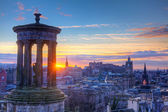 Scotland Edinburgh Calton Hill — Stock Photo