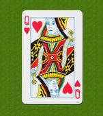 Play Card Heart — Stock Photo