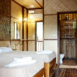 Stock Photo: Bamboo bedroom