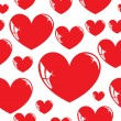 Stock Photo: Seamless wallpaper, heart.
