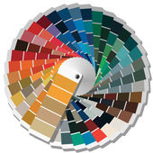 Color palette guide for printing industry. — Stock Photo