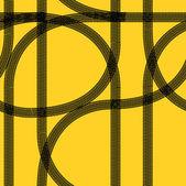 Seamless wallpaper winter tire tracks pattern illustration — Stock Photo