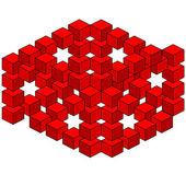 Abstract optical illusion — Stock Photo