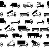 Cars, vehicles. Car body. Seamless wallpaper. — Stock Photo