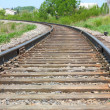 Stock Photo: Rotate rail leaving distance