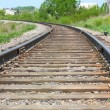 Rotate the rail leaving the distance — Stock Photo #9746968