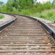 Rotate the rail leaving the distance — Stock Photo #9747056