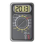 2013 New Year Multimeter , vector. — Stock Photo