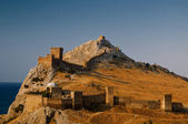 Genoese fortress in Sudak — Stock Photo