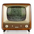 Retro television — Stock Photo