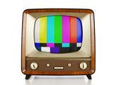 Retro TV — Stock Photo