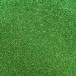 Green glitter background — Stock Photo