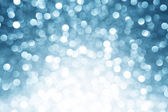 Blue defocused lights background — Stock Photo