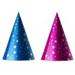 Colorful party hats — Stock Photo