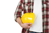 Close up of construction worker — Stock Photo