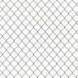 Rusty chainlink fence — Stock Photo