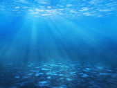 Underwater background — Stock Photo