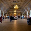 Stand in church of Novodevichy convent in Moscow — Stock Photo