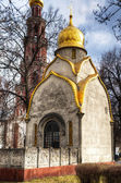 Chapel in Novodevichy convent in Moscow — Stock Photo