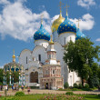 Assumption Cathedral in Trinity Sergius Lavra - Foto Stock