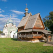 Wooden Church of Saint Nicholas in Kremlin of Suzdal — Stok fotoğraf