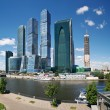 Moscow-city business center - Stock Photo