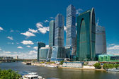 Moscow-city business center — Stock Photo