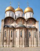 Catedral de la asunción en el kremlin de moscú — Foto de Stock