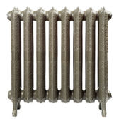 A cast iron radiator — 图库照片