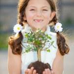 charakter dziecko — Zdjęcie stockowe