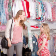 Clothes shopping — Stock Photo