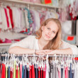 Foto Stock: Clothes shop