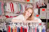 Kläder butik — Stockfoto