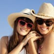 Summer teens on vacation - Stock Photo