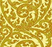 Thai art pattern — Stock Vector