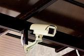 CCTV cameras inside the building — Stock Photo