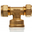 Plumbing fixtures and piping parts — Stock Photo