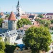 Royalty-Free Stock Photo: View over the Old Town of Tallinn, Estonia