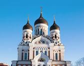 Alexander Nevsky Cathedral in Talllinn — Stock Photo
