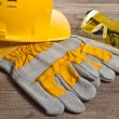 Royalty-Free Stock Photo: Safety gear kit close up