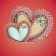 Royalty-Free Stock Imagen vectorial: Valentines Day vintage card
