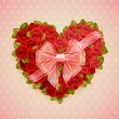 Royalty-Free Stock Imagem Vetorial: Valentines Day card