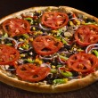 Vegetarian pizza — Stock Photo #10385017