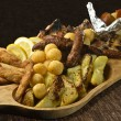 Rustic tray — Stock Photo #10444670