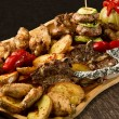 Rustic tray — Stock Photo #10444686