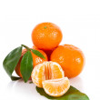Stock Photo: Mandarine fruits