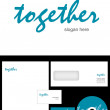 Stock Photo: Together Logo Design