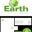 Stock Photo: Earth Logo Design