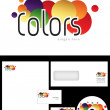 Stock Photo: Colors Logo Design