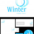 Stock Photo: Winter Logo Design